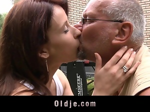 Amateur, Cumshots, Doggystyle, Hardcore, Masturbating, Old man, Outdoor, Skinny, Teens