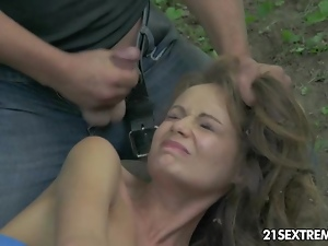 Babes, Bdsm, Blindfolded, Blowjob, Brunettes, Cumshots, European, Fingering, Hardcore, Natural boobs, Outdoor, Small tits, Spanking