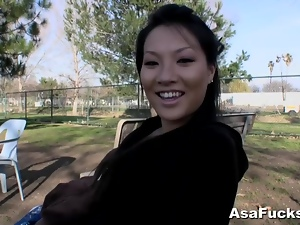 Amateur, Asian, Interview, Outdoor, Talk