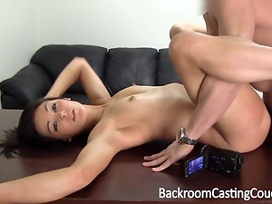 Anal, Audition, Casting, Cum, First time, Swallow, Teens, Young