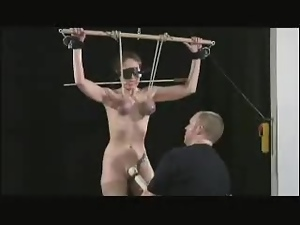 Babes, Blindfolded, Bondage, Bound, Fetish, Tied up, Vibrator