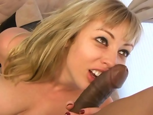 Anal, Big cock, Blondes, Blowjob, Cowgirl, Creampie, Deepthroat, Doggystyle, Gagging, Interracial, Monster cock, Riding, Tattoo