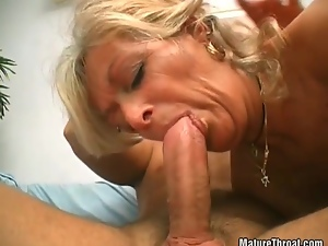Amateur, Blowjob, Deepthroat, Granny, Hairy, Sucking