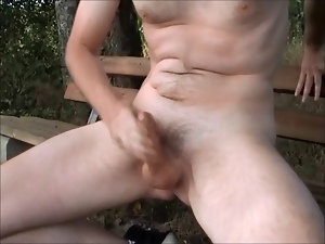 Amateur, Gay, Outdoor, Small cock, Voyeur