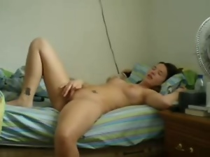 Amateur, Fingering, First time, Home, Masturbating, Webcam