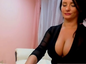 Big tits, Catsuit, Webcam