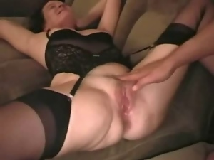 Amateur, Creampie, Cuckold, Husband, Swingers, Watching, Wife