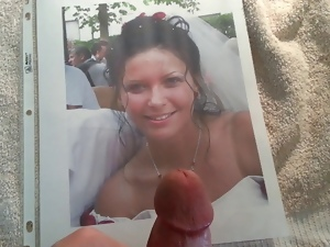 Bride, Cum, Gay, Naughty, Tribute