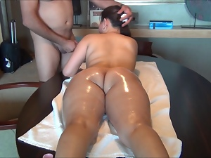 18 year old, Amateur, Anal, Asian, Ass, Insertions, Interracial, Massage