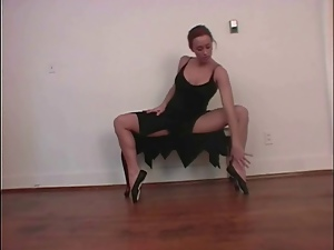 Babes, Ballerina, Dancing, Foot fetish