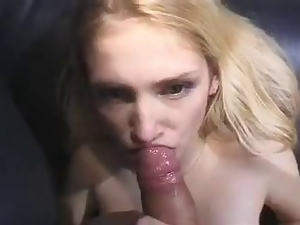 Amateur, Blondes, Blowjob, Swallow
