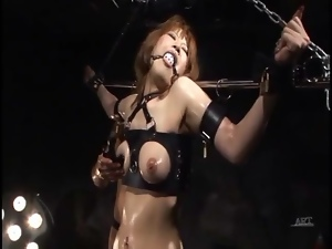 Babes, Bondage, Erotic, Japanese, Oiled, Small tits