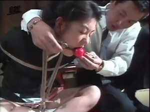 Bdsm, Bondage, Bound, Close up, Drooling, Gagged, Japanese