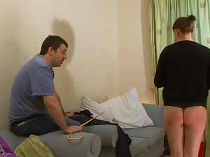 Caning, Teens