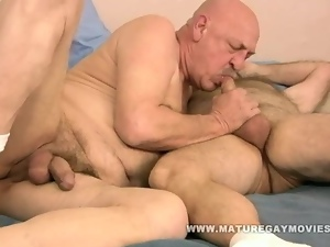 Fat, Friend, Fucking, Gay, Hairy, Mature