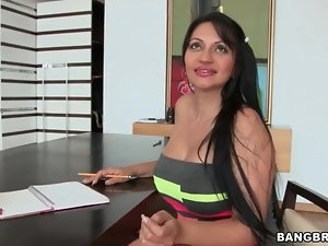 Ass, Big butt, Big tits, Latina, Lipstick, Model, Slut