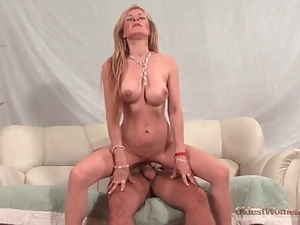 Big tits, Chick, Fucking, Hardcore, Mature, On top, Perfect
