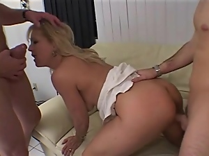 Blondes, Cumshots, Hardcore, Horny, Mature, Threesome