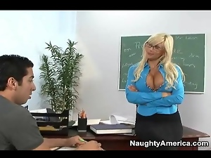 Big tits, Bimbo, Glasses, Student, Teacher