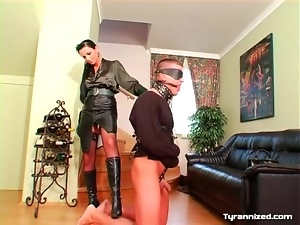 Domination, Femdom, Leashed, Leather