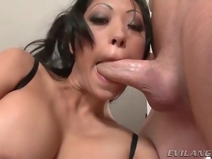 Deepthroat, Dick, Lingerie, Milf, Throat