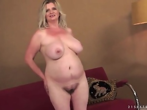 Big tits, Fat, Fondling, Mature, Strip, Tease, Tits
