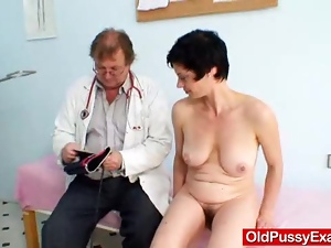 Busty, Doctor, Gyno exam, Hairy, Mom, Pussy, Reality