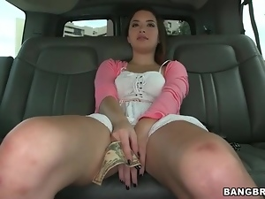 Car, Chick, Cute, Upskirt