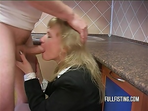 Anal, Bitch, Fisting, Kitchen, Mature