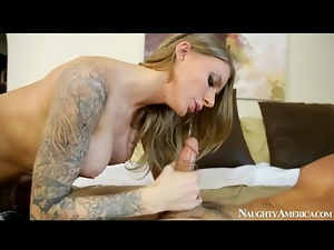 Big tits, Naughty, Oral, Slut, Tattoo