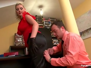 Clothed sex, Curvy, Doggystyle, Fucking, Hardcore, Office