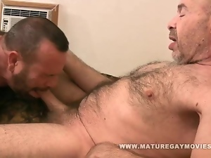 Barebacking, Bear, Friend, Fucking, Hairy, Mature, Ugly