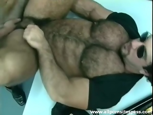 Anal, Ass, Bear, Fucking, Hairy, Muscled, Rimjob