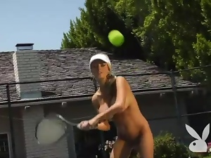Big tits, Nude, Sport, Strip, Tennis