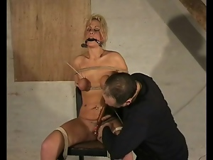 Bdsm, Bondage, Dildo, Gagged, Tied up