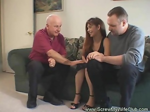 Cuckold, Fucking, Husband, Swingers, Wife