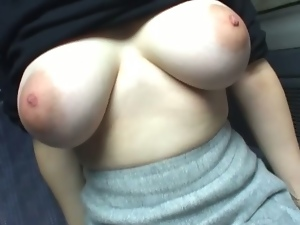 Amateur, Asian, Big natural tits, Big tits, Brunettes, Busty, Car, Huge tits, Japanese, Milf, Mom, Outdoor, Pov