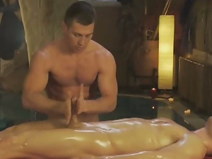 Gay, Handjob, Hunk, Jerking, Masturbating, Nuru massage, Oiled, Tugjob
