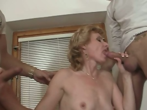3some, Aged, Blondes, Czech, European, Granny, Hardcore, Mmf, Threesome
