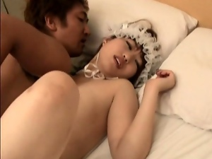 18 year old, 19 year old, Asian, Japanese, Missionary, Natural pussy, Teens
