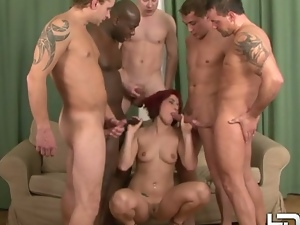 Anal, Ass fucking, Babes, Beautiful, Big butt, Cowgirl, Double penetration, Gangbang, Glamour, Hardcore, Interracial, Missionary