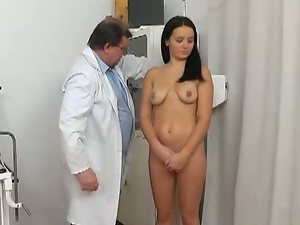 18 year old, Big tits, Bizarre, Brunettes, Busty, Doctor, Fetish, Innocent, Pussy, Sex toys, Speculum, Teens, Tight pussy, Young