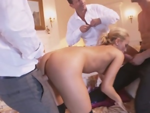 Anal, Ass fucking, Babes, Big cock, Big natural tits, Big tits, Blondes, Cowgirl, Gangbang, Gaping hole, Glamour, Hardcore, Missionary