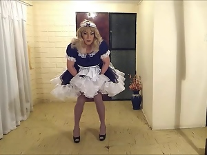 Amateur, Crossdressing, Gay, Maid, Masturbating, Sissy, Voyeur