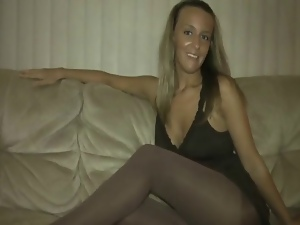 Ass, Feet, Jerk off instruction, Masturbating, Pantyhose, Pov, Pussy, Softcore, Stockings, Tease