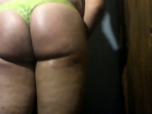 Booty, Crossdressing, Gay, Slut, Thong