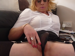 Amateur, Crossdressing, Cum, Gay, Handjob, Masturbating, Small cock
