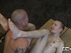 Barebacking, Big cock, Blowjob, Breeding, Gay, Tattoo, Twink