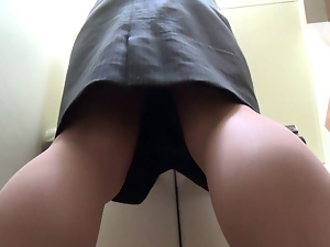 Amateur, Anal, Farting, Japanese, Office
