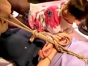 Asian, Bdsm, Bondage, Chinese, Hogtied